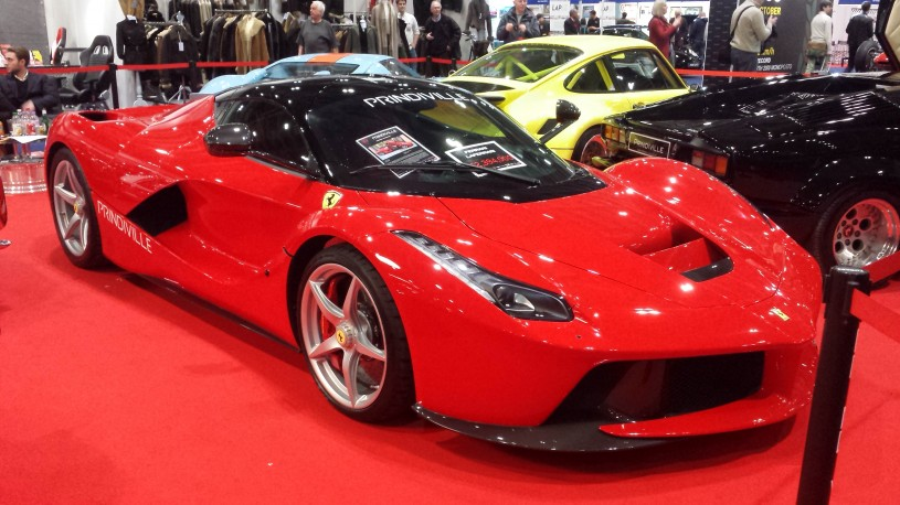 Ferrari LaFerrari Classic Car Show London Sunshine Models