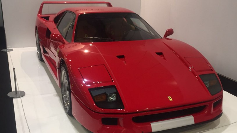 Ferrari F40 Classic Car Show London