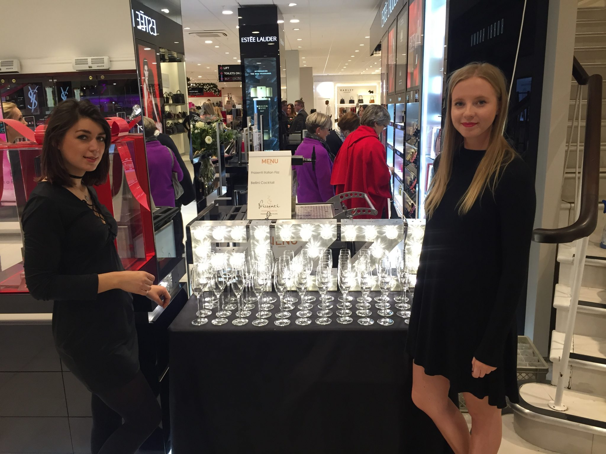 Hostesses House of Fraser launch